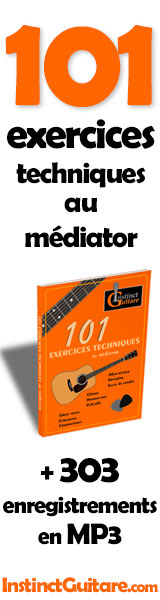 101 exercices techniques au médiator